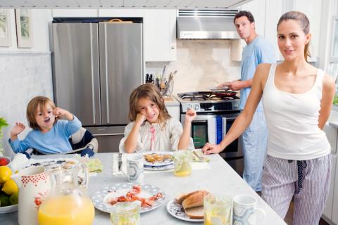cuomo family breakfast 2