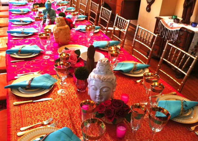 Kdh Hosts An Exotic Indian Dinner See Pix Amp How To Party