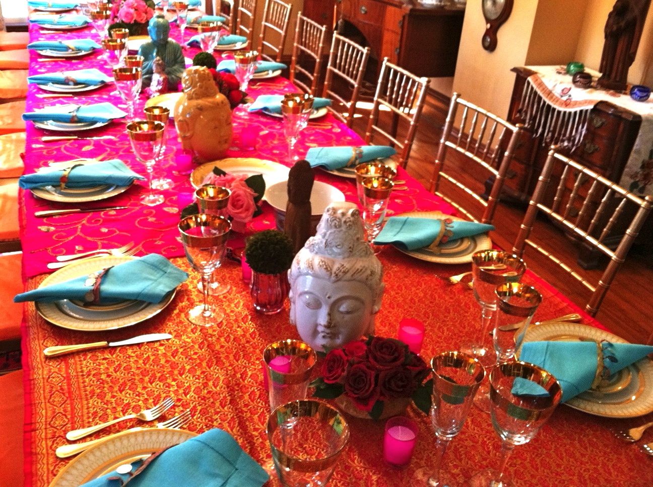 Moroccan decorating ideas living room - Kdh Hosts An Exotic Indian Dinner See Pix Amp How To Party