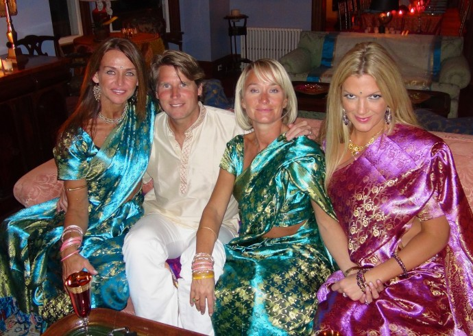 Kdh Hosts An Exotic Indian Dinner See Pix How To Party