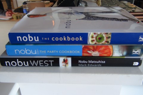 Nobu Cookbooks