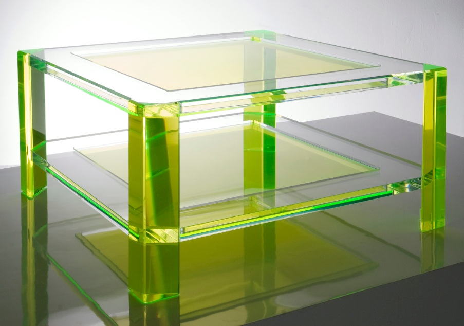 Alexandra Von Furstenberg Neon Coffee Table