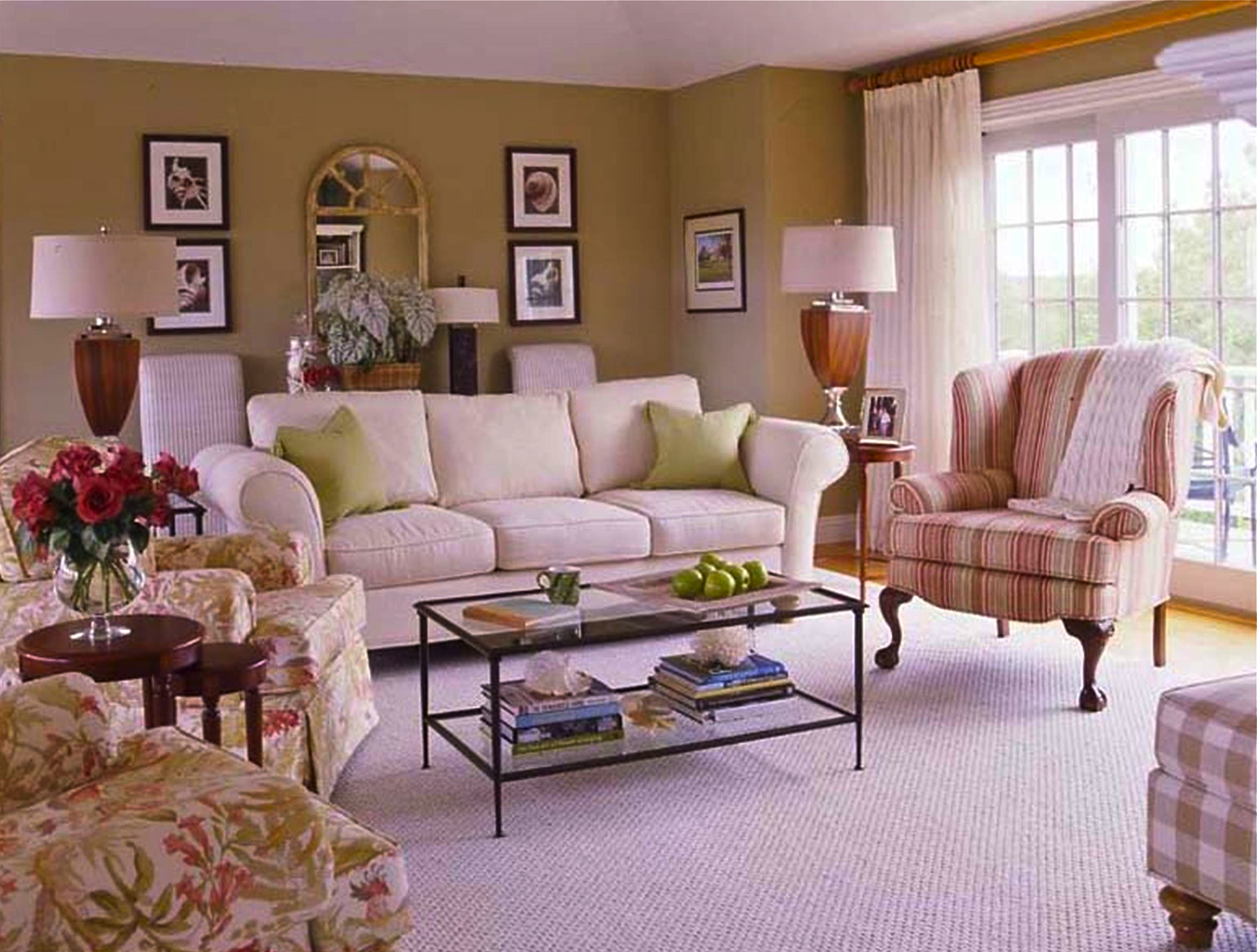 the langdon living room is comfortably chic - Libby Langdon Furniture