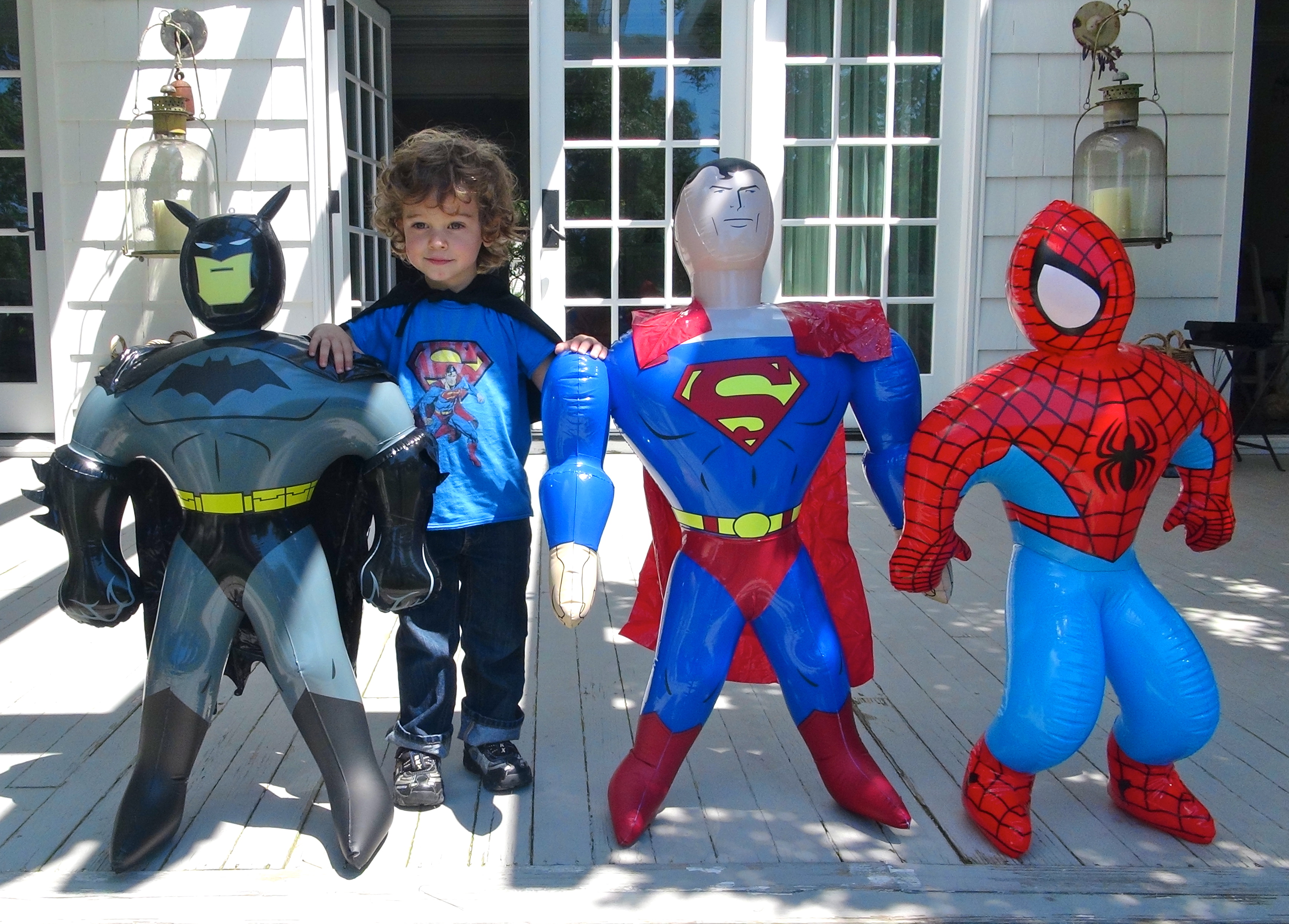 Kids Toys Action Figure: How To Plan A Superhero Halloween Party For Kids!