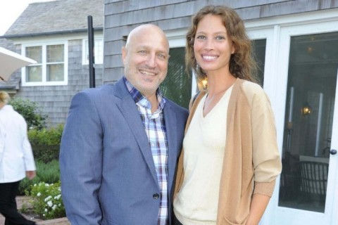 Christy Turlington and Chef Tom Colicchio