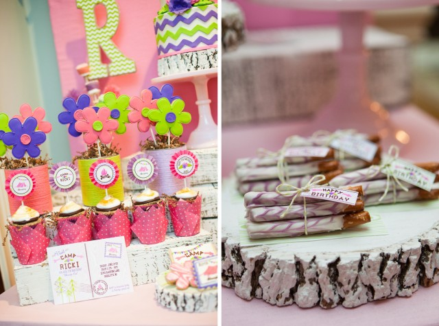 How To Make A Girlie Tent Cake