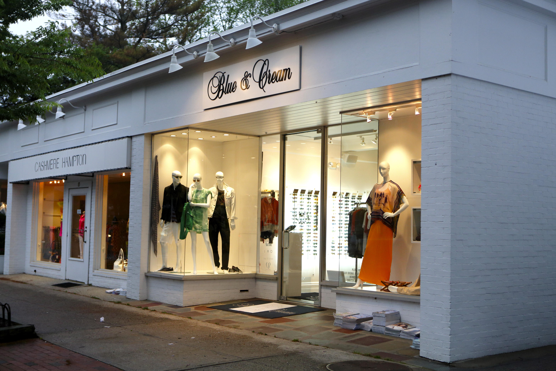 Blue Creams New Flagship Store In East Hampton Shop Kdhamptons