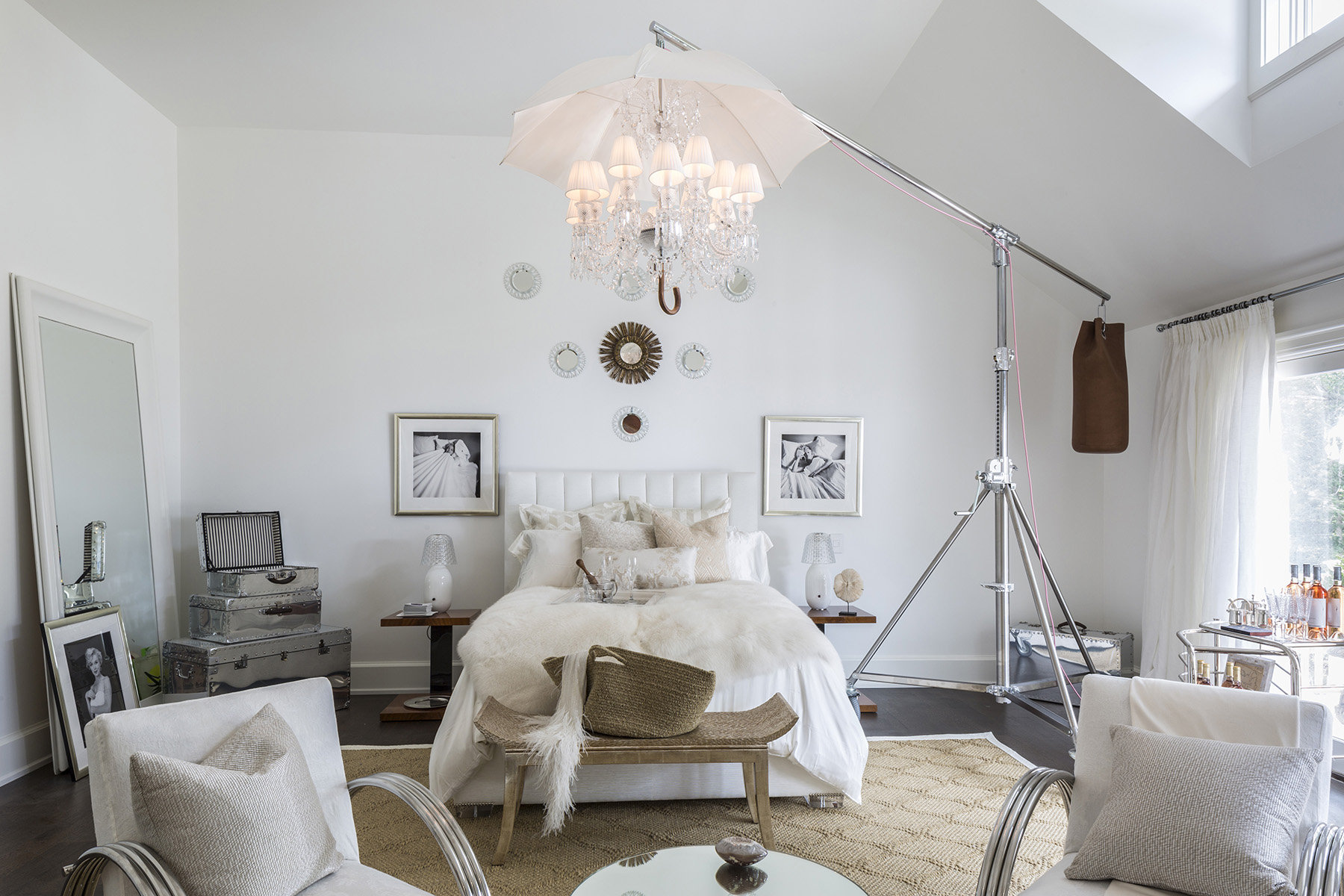 New kdhamptons design diary take a tour inside the first for Bedroom ideas hamptons