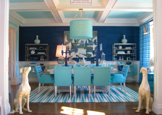 Kdhamptons Design Diary How To Create Dining Room Drama