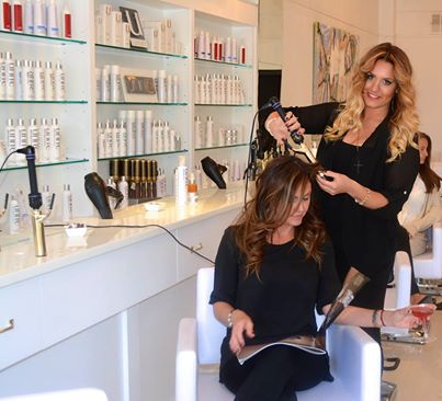 Kdhamptons beauty news blow hampton salon opens second for Hair salon perfect first essential