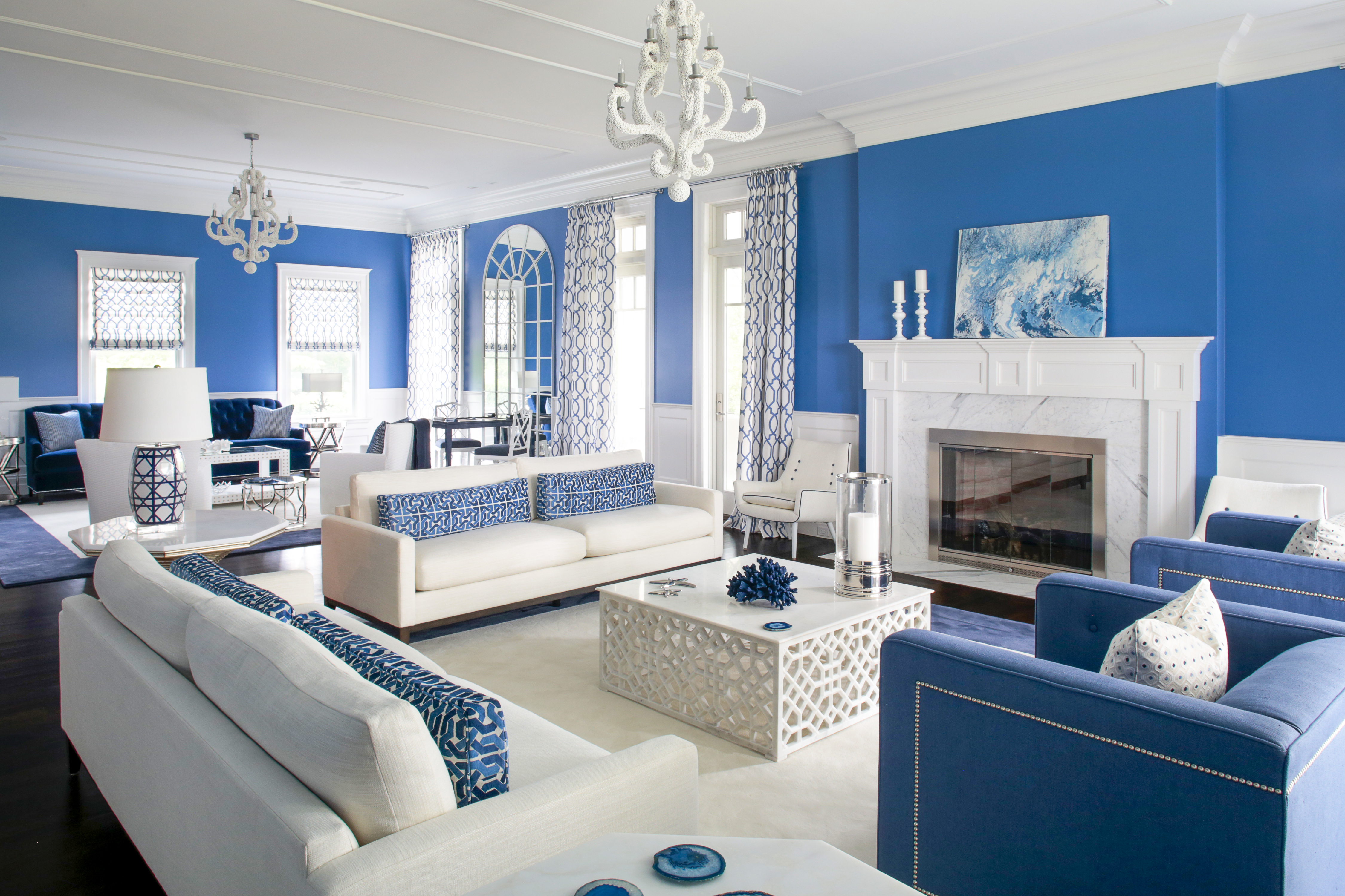 Blue Interior Design new kdhamptons design diary: mabley handler delights with blue