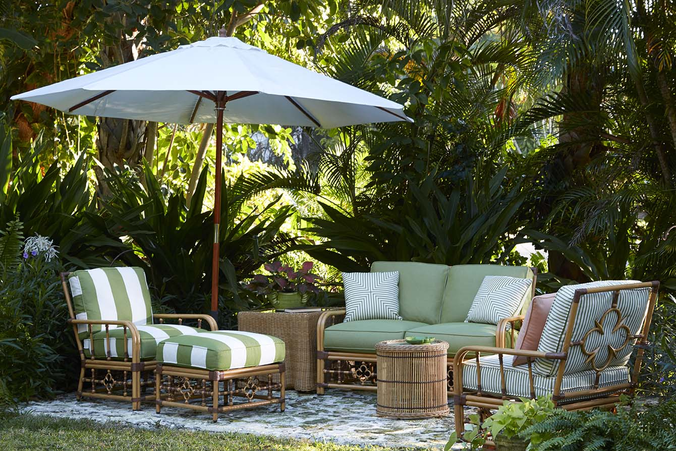 Celerie kemble shares her stunning new outdoor furniture for Muebles outdoor