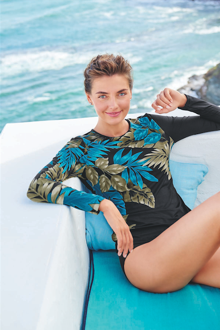 c093858a KDHamptons Fashion: Land's End Launches New Sun Savvy Swim ...