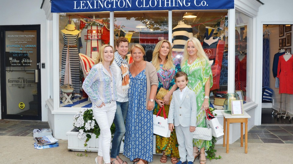 KRISTINA LINDHE, Creative Director and Founder of LEXINGTON CLOTHING COMPANY and Interior Designer ANTHONY BARRATA Kickoff Their Designer Collaboration ANCHORS AWAY