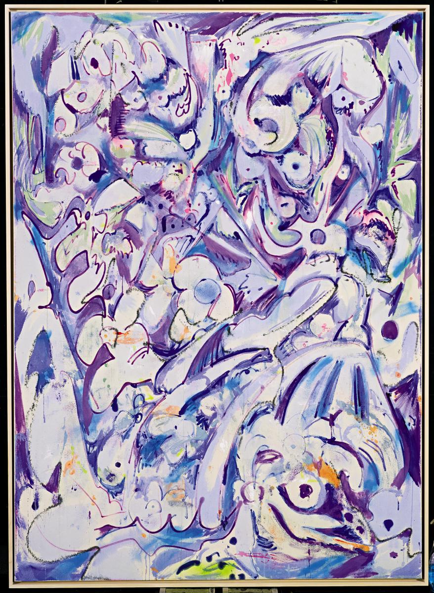 4. Jim Thorell, Blue Chanterelle