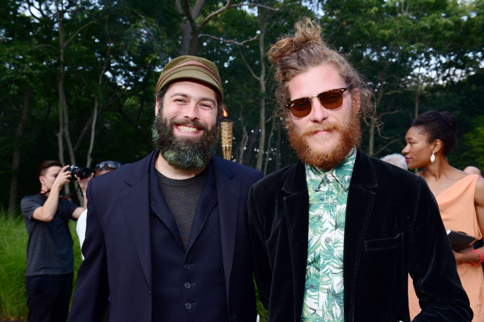 Andy Cross, Nate Hitchcock== Circus of Stillness... the power over wild beasts?: The 22nd Annual Watermill Center Summer Benefit & Auction== The Watermill Center, Watermill, NY== July 25, 2015== ©Patrick McMullan== Photo - Sean Zanni/PatrickMcMullan.com== ==