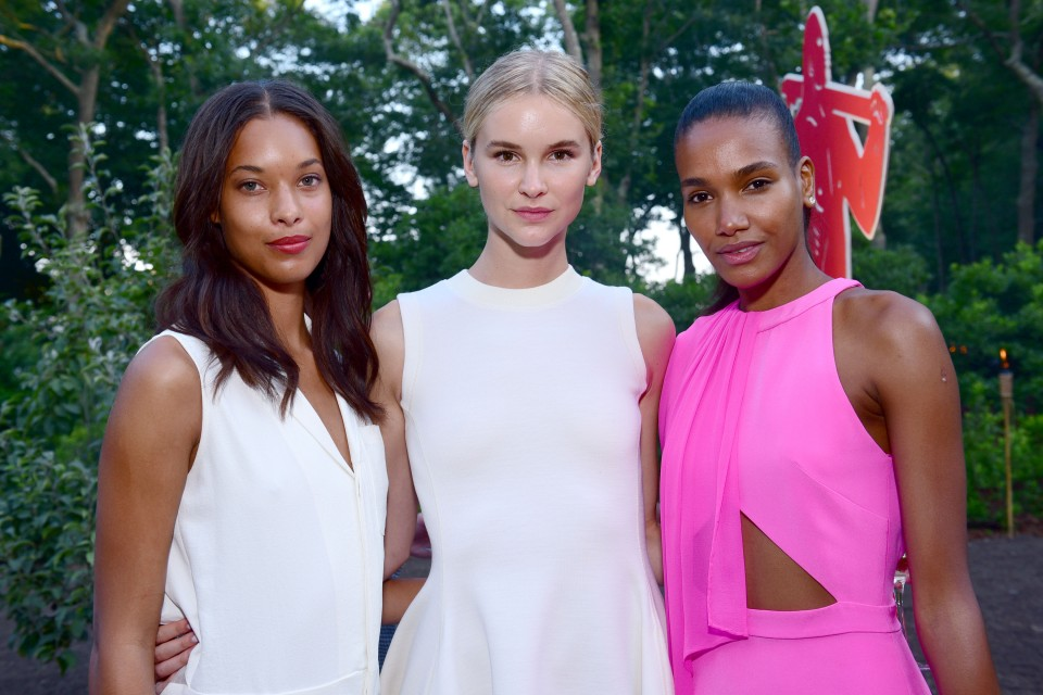 Rainey Forkner, Taylor Kraemer, Arlenis Sosa== Circus of Stillness... the power over wild beasts?: The 22nd Annual Watermill Center Summer Benefit & Auction== The Watermill Center, Watermill, NY== July 25, 2015== ©Patrick McMullan== Photo - Sean Zanni/PatrickMcMullan.com== ==