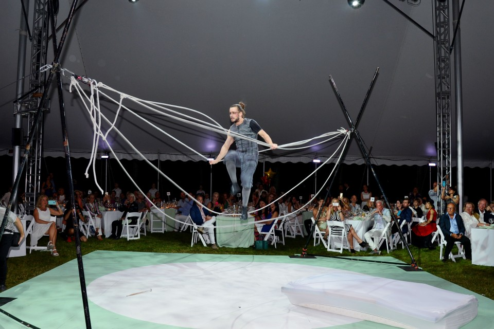 Atmosphere== Circus of Stillness - the power over wild beasts: The 22nd Annual Watermill Center Summer Benefit and Auction== The Watermill Center, Water Mill, NY== July 25, 2015== ©Patrick McMullan== Photo - Patrick McMullan/PatrickMcMullan.com== ==