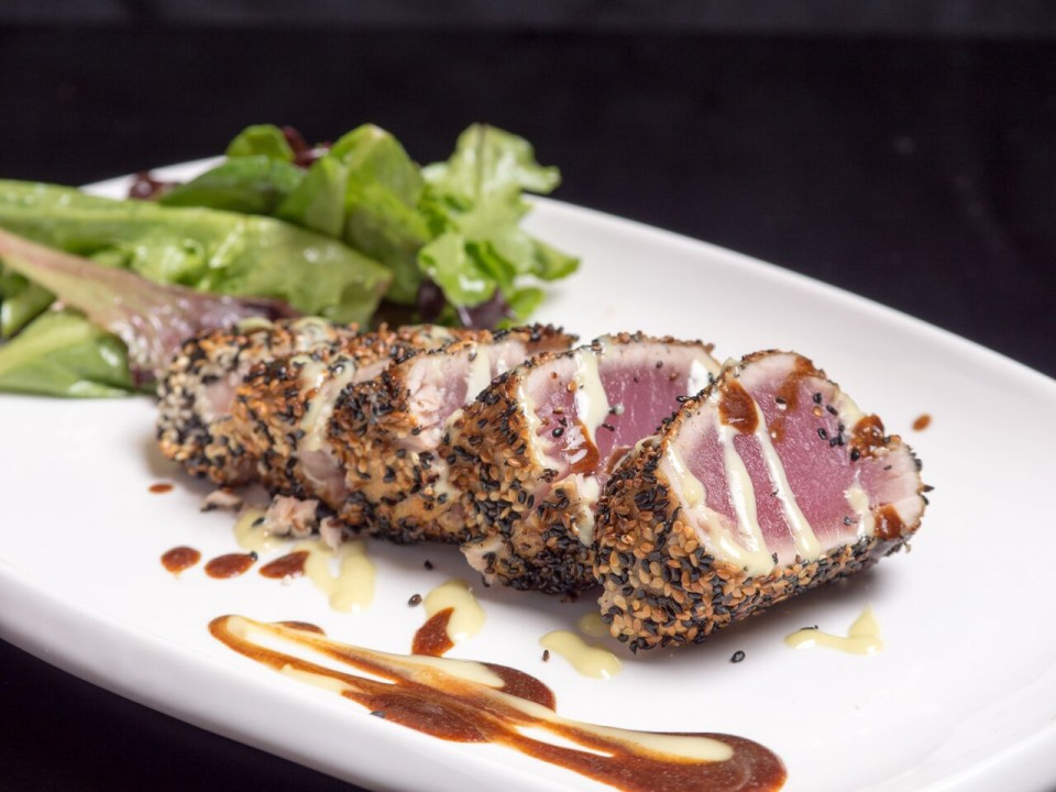 Chef Admir Alibasic - Ben & Jack's Steak House Sesame Crusted Tuna