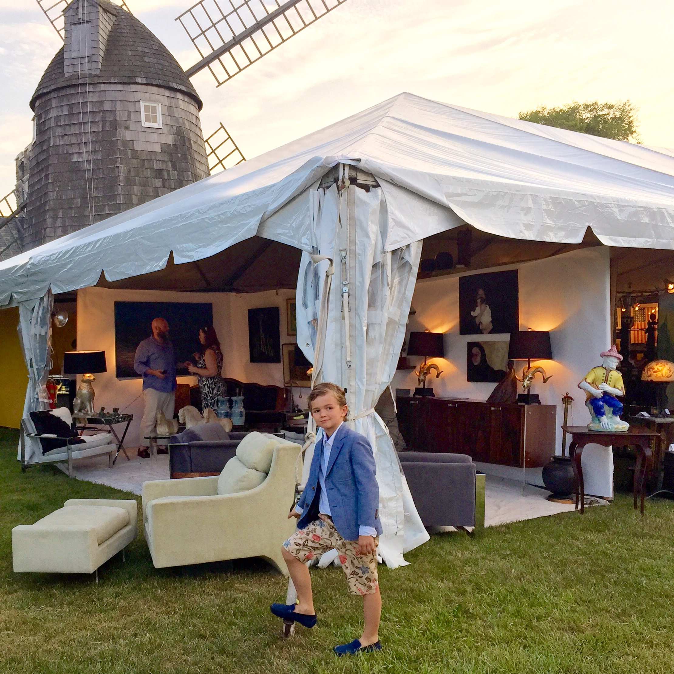Aerin Lauder Chairs 10th Anniversary Party Of East Hampton