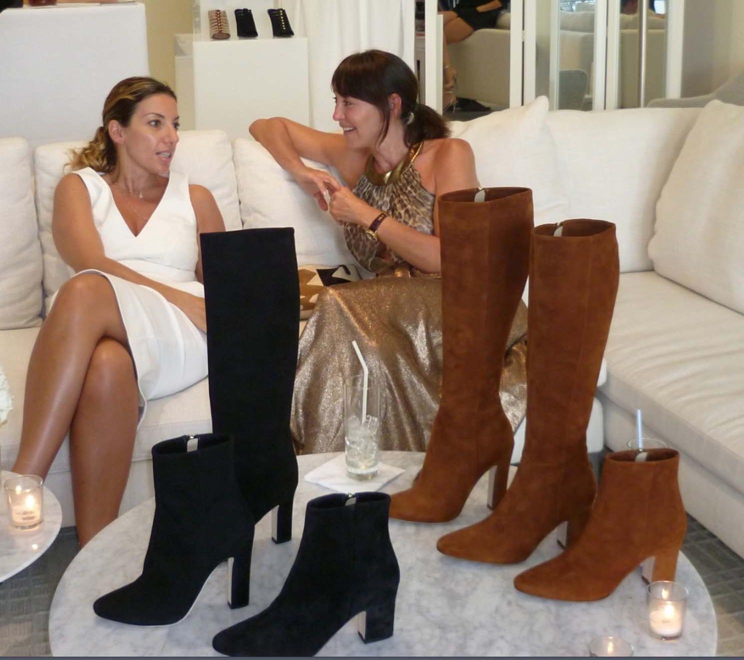 Giulia Caltagirone Azmoudeh & Tamara Mellon