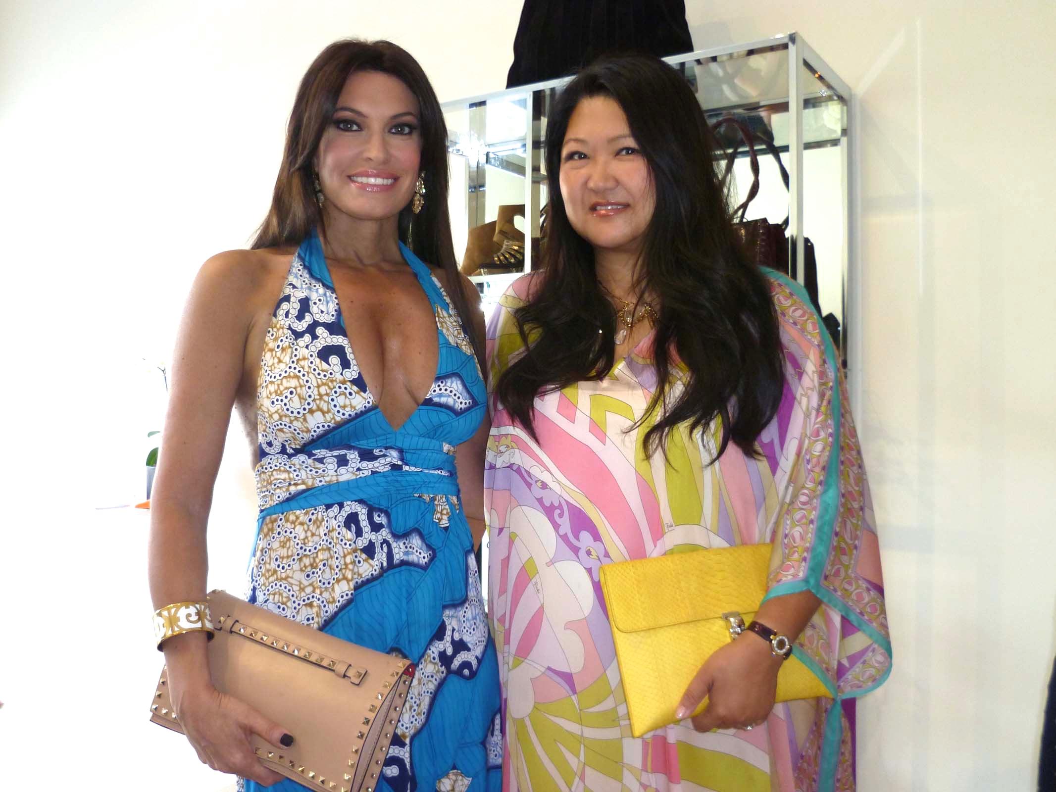 Kimberly Guifoyle & Susan Shin - Love Heals - Tamara Mellon event