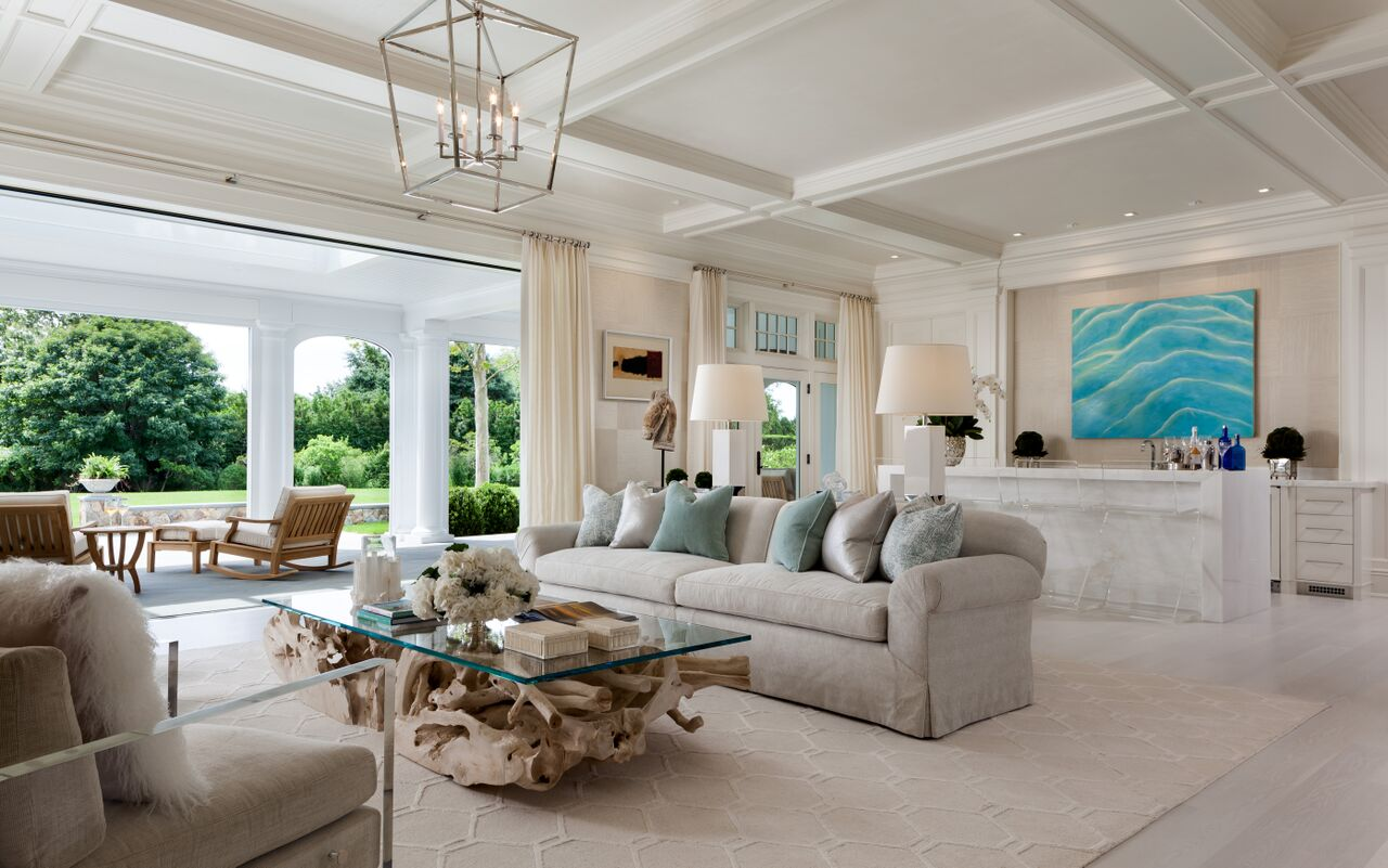 New kdhamptons featured property kean development offers for Hamptons living room designs
