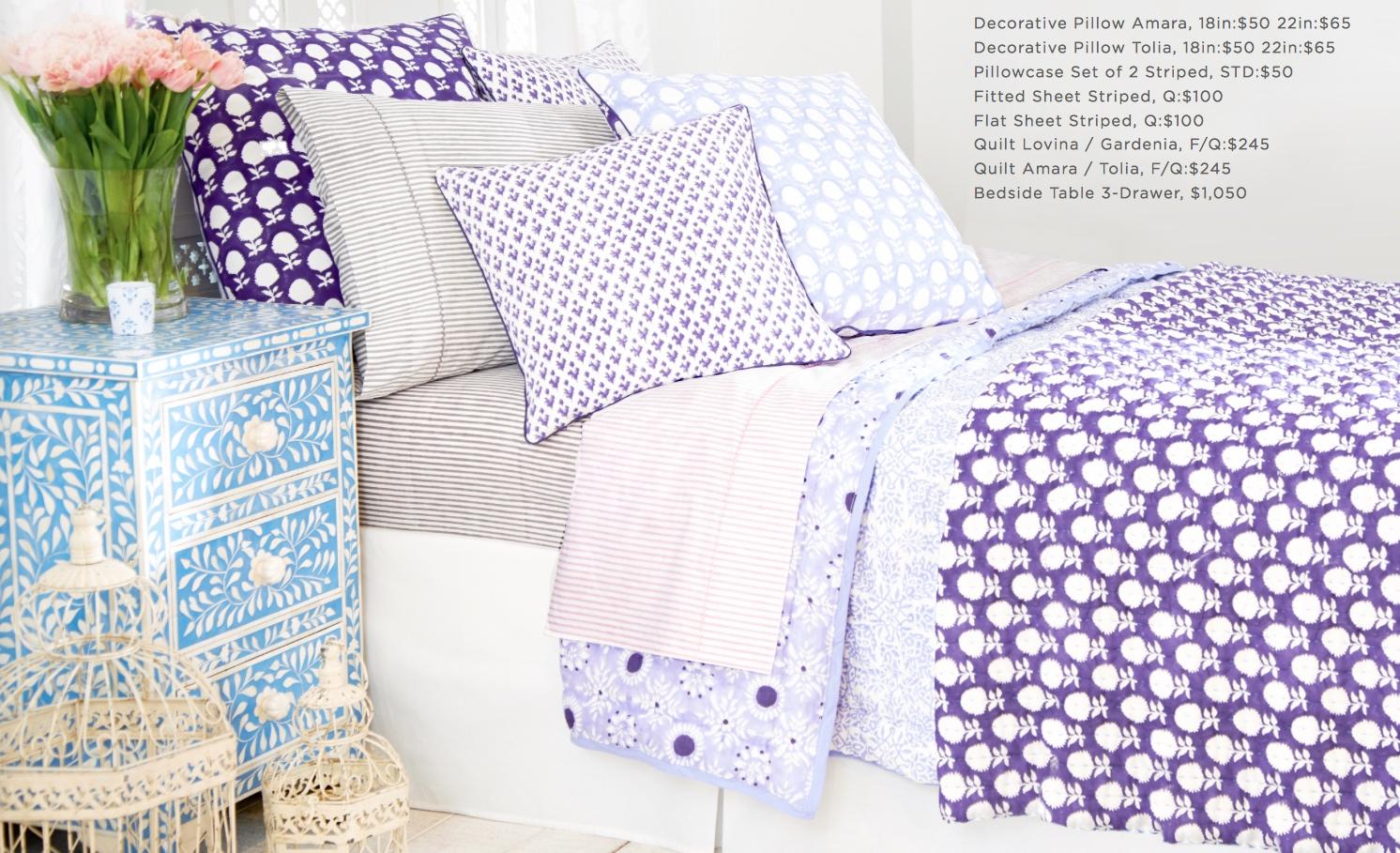 Roberta Roller Rabbit's New Bedding Collection Sings Spring In The ... : roberta roller rabbit quilts - Adamdwight.com