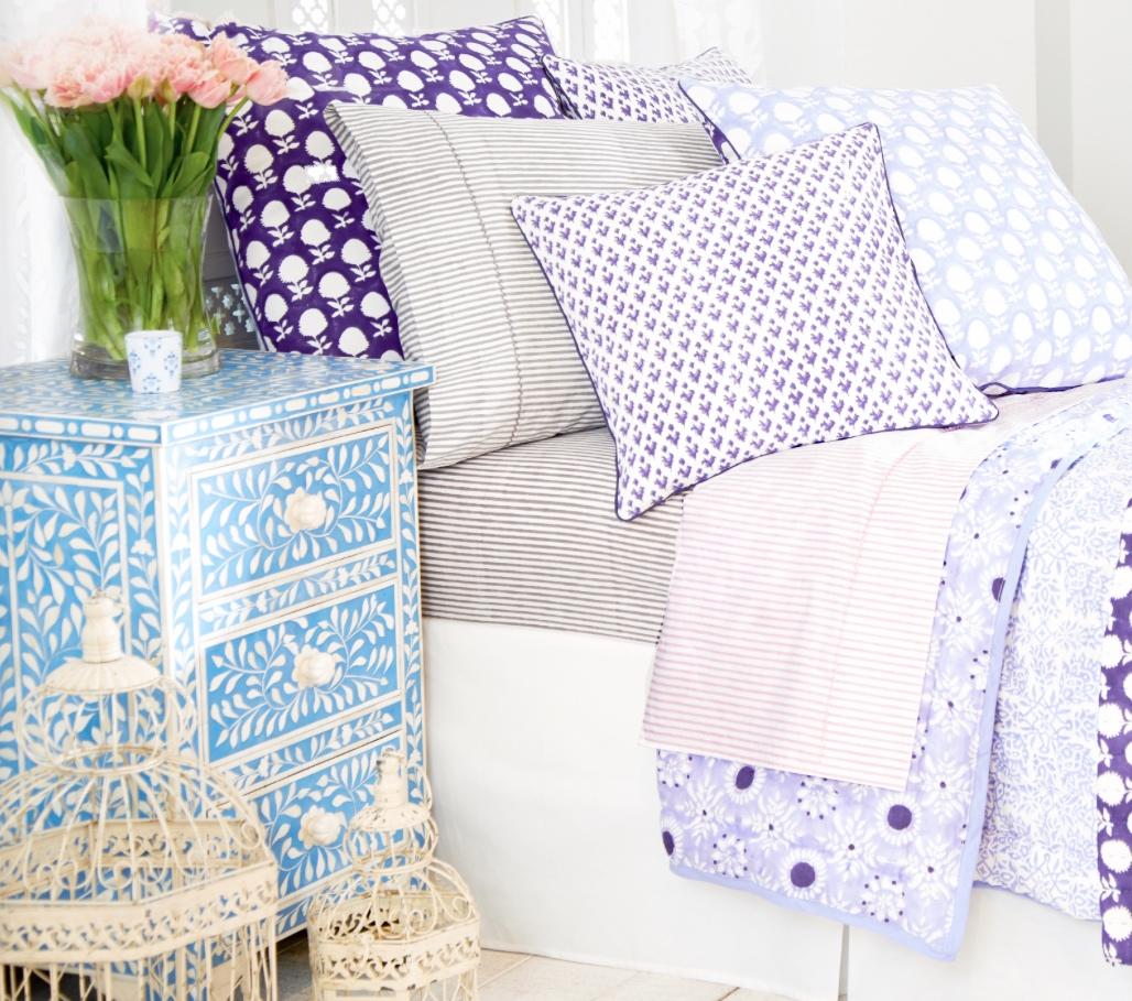 Roberta Roller Rabbit's New Bedding Collection Sings Spring In The ... : roberta roller rabbit quilt - Adamdwight.com