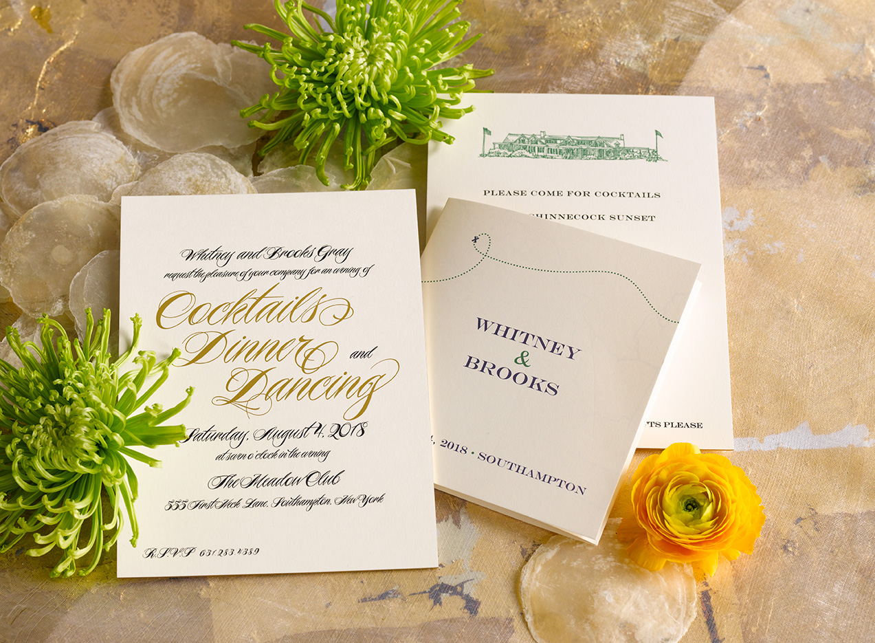 picketts wedding invite Southampton