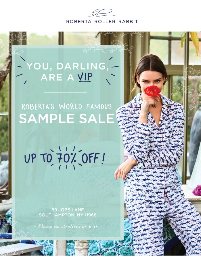 900b16b0fdf Calling all Roberta Roller Rabbit fans! Roberta s world famous SAMPLE SALE  IS HAPPENING TODAY IN SOUTHAMPTON! Caftans