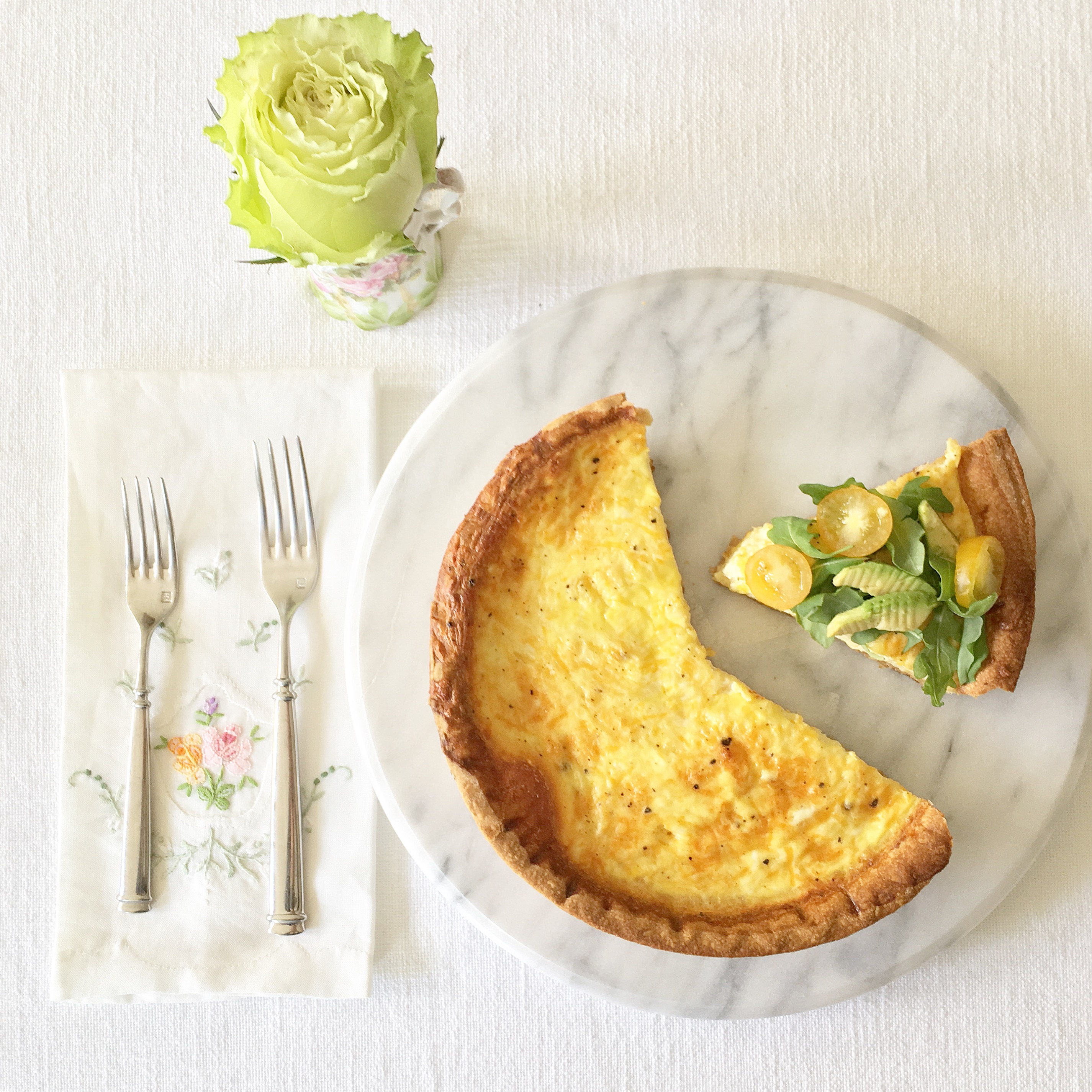 New kdhamptons recipe chic easy quiche lorraine for Quiche not setting