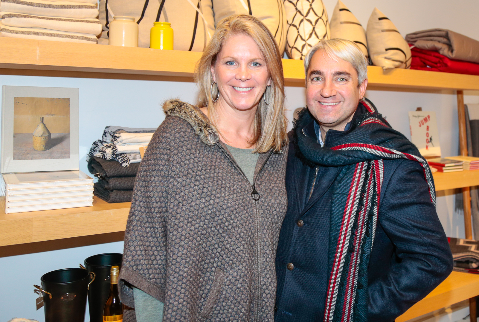 Hamptons designers Jennifer Mabley and her husband Austin Handler