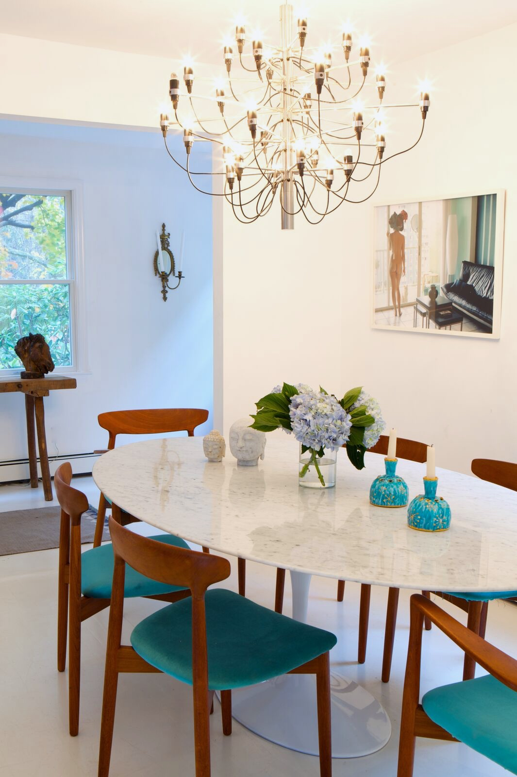 AtHome In The Hamptons With Norwegian Designer Anna Cappelen - Hamptons kitchen design