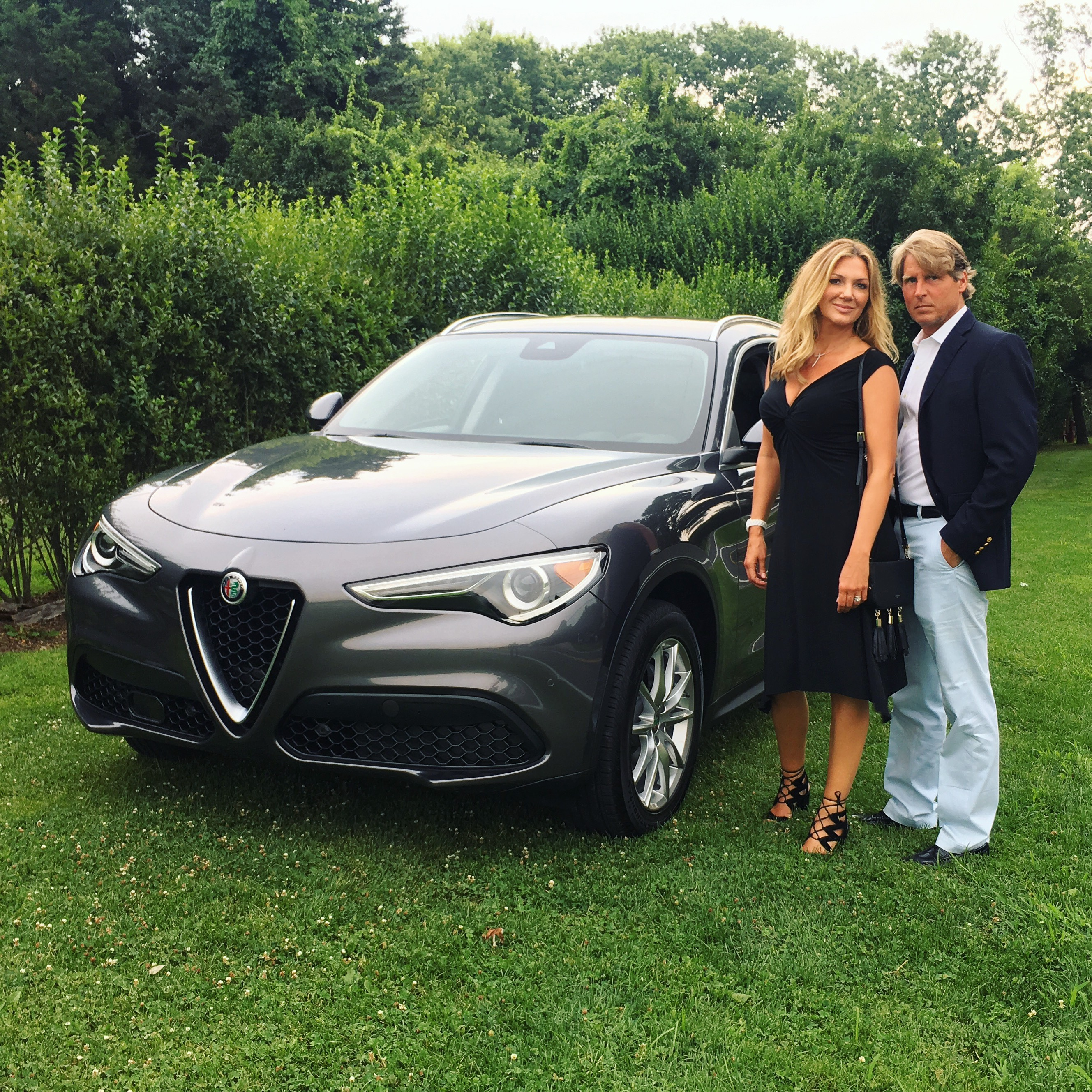 KDHamptons Hits The Road In Style In The 2018 Alfa Romeo