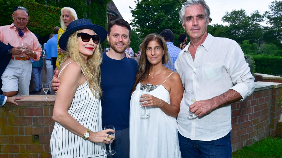 Maison Gerard's Opening Night Party for Marino di Teana Sculpture Exhibition