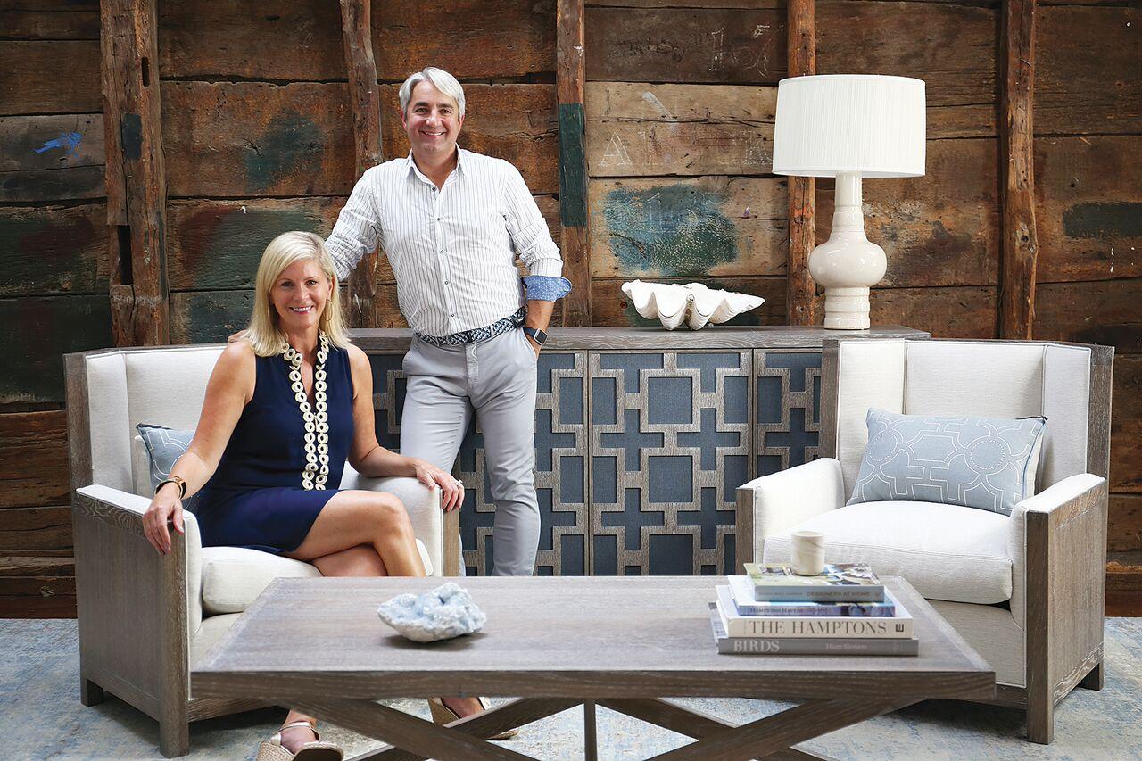 Hamptons Design Duo Mabley Handler Launch New Kravet Furniture