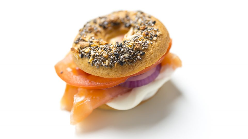 Everything-Keto-Bagel-with-Smoked-Salmon-and-Cashew-Cream