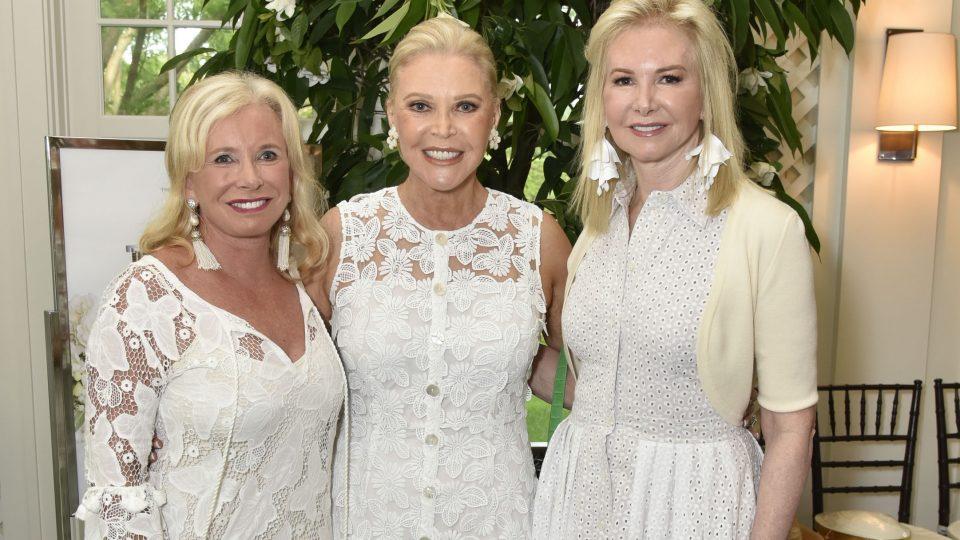 Audrey Gruss' All White Ladies Tea