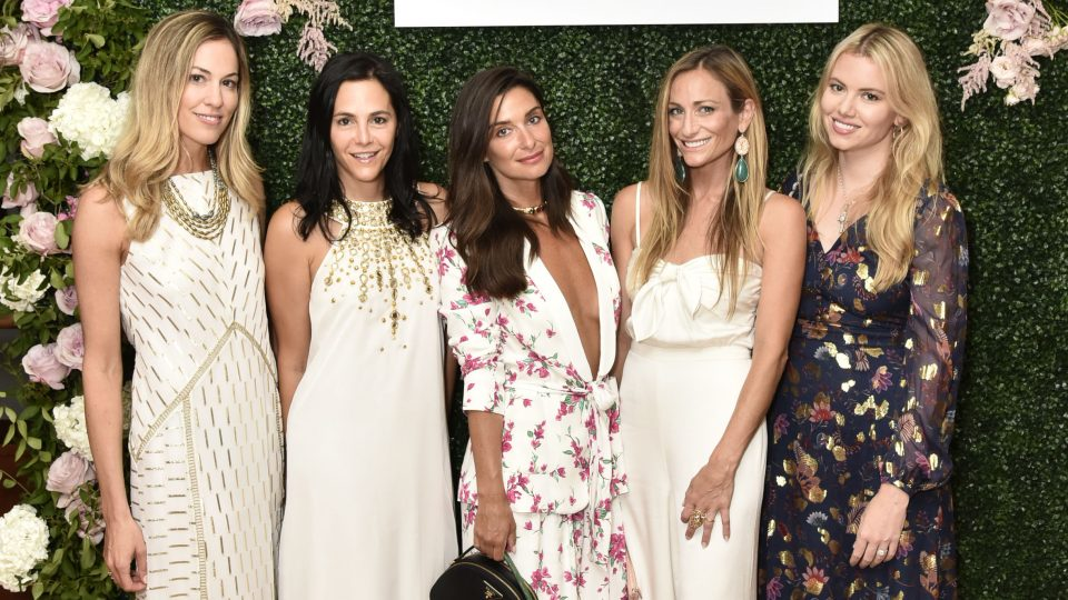 Rachel Zoe Collection Summer Dinner At Moby's East Hampton With FIJI Water, Tanqueray, And AUrate