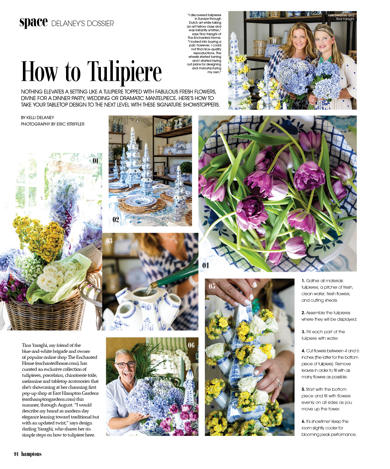 Thanks To The Enchanted Home For Featuring Kdhamptons In